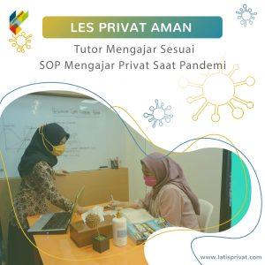 les privat aman dengan protokol kesehatan